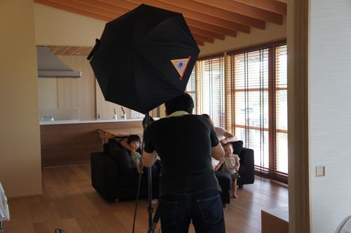 完成した注文住宅K様邸の写真撮影