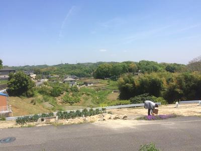 岡山県倉敷市玉島 眺めのいい家 地鎮祭準備の様子