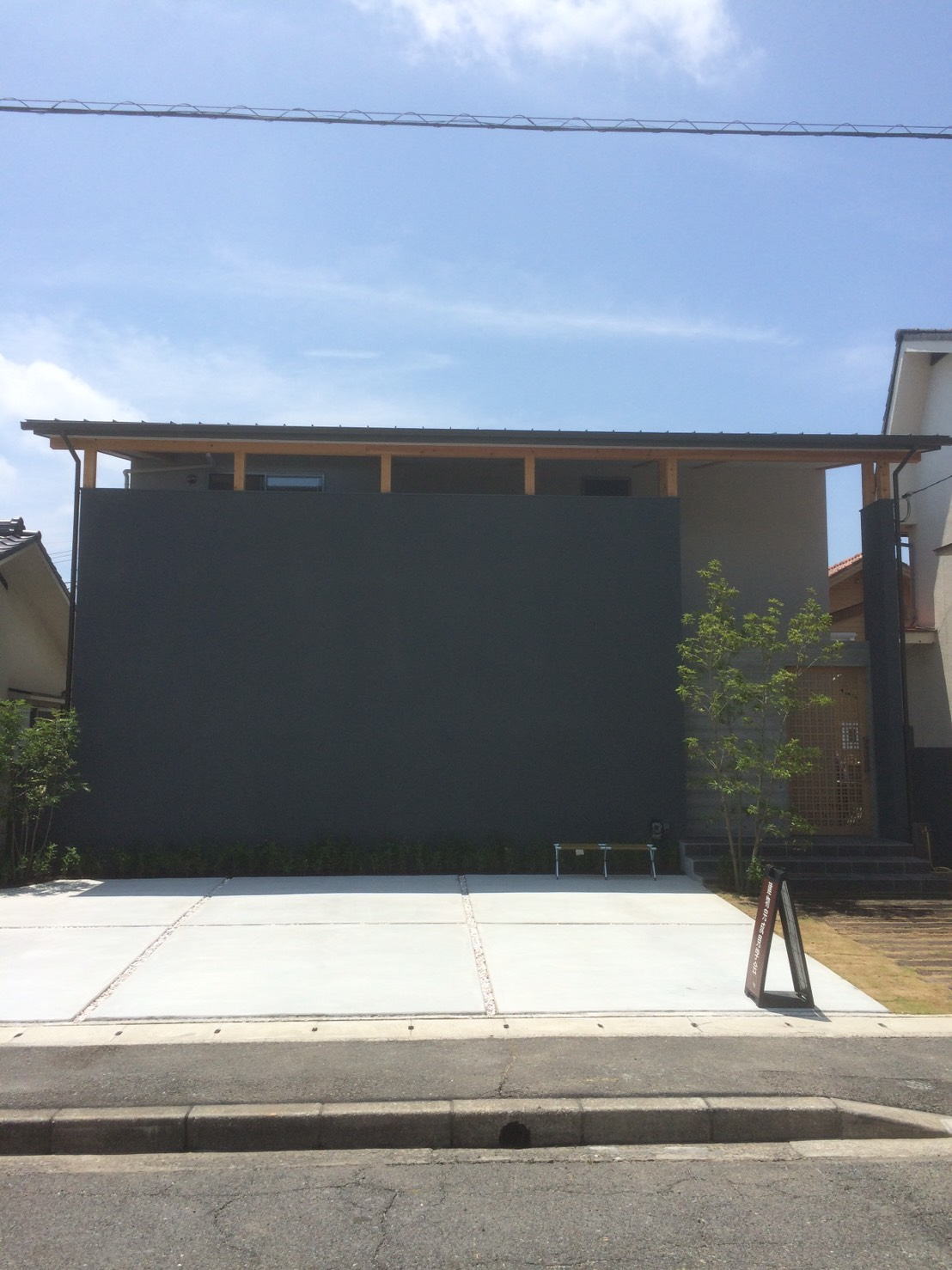 岡山県岡山市南区立川町 T様邸の完成建物の外観