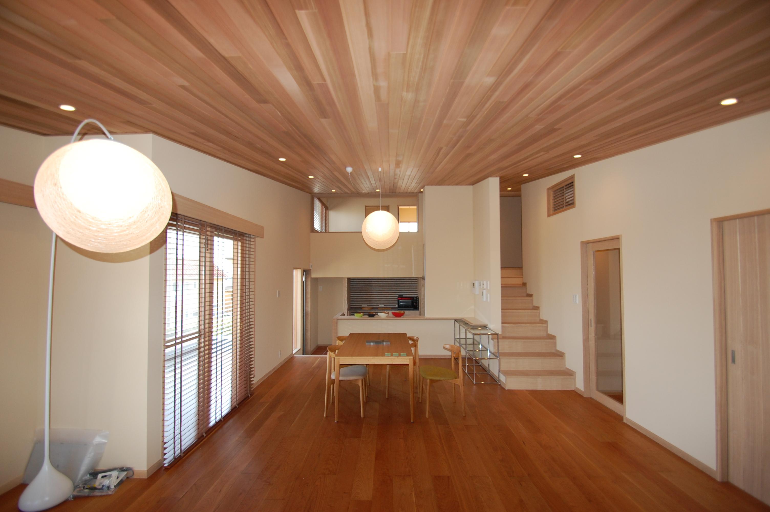 注文住宅 K様邸のLDK 2012/12/17