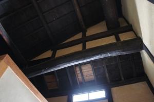 古民家の天井の写真