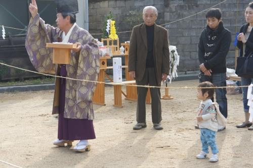 岡山県倉敷市 地鎮祭 お祓い