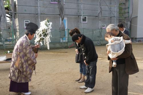 岡山県倉敷市 地鎮祭開会
