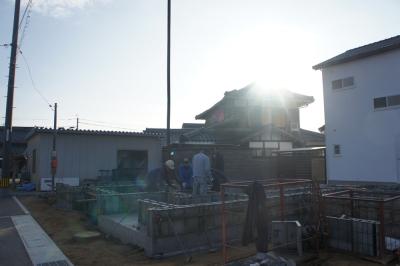 K邸様基礎工事開始
