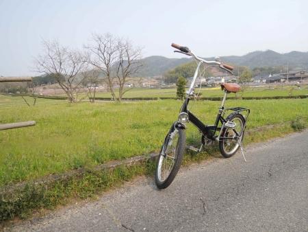 株式会社木まま愛用の自転車