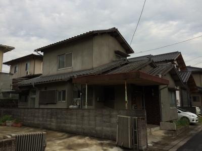 総社市清音に建つ中古住宅