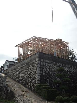 上棟がほぼ完成