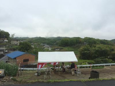 倉敷市玉島 眺めのいい家 地鎮祭の様子 その1
