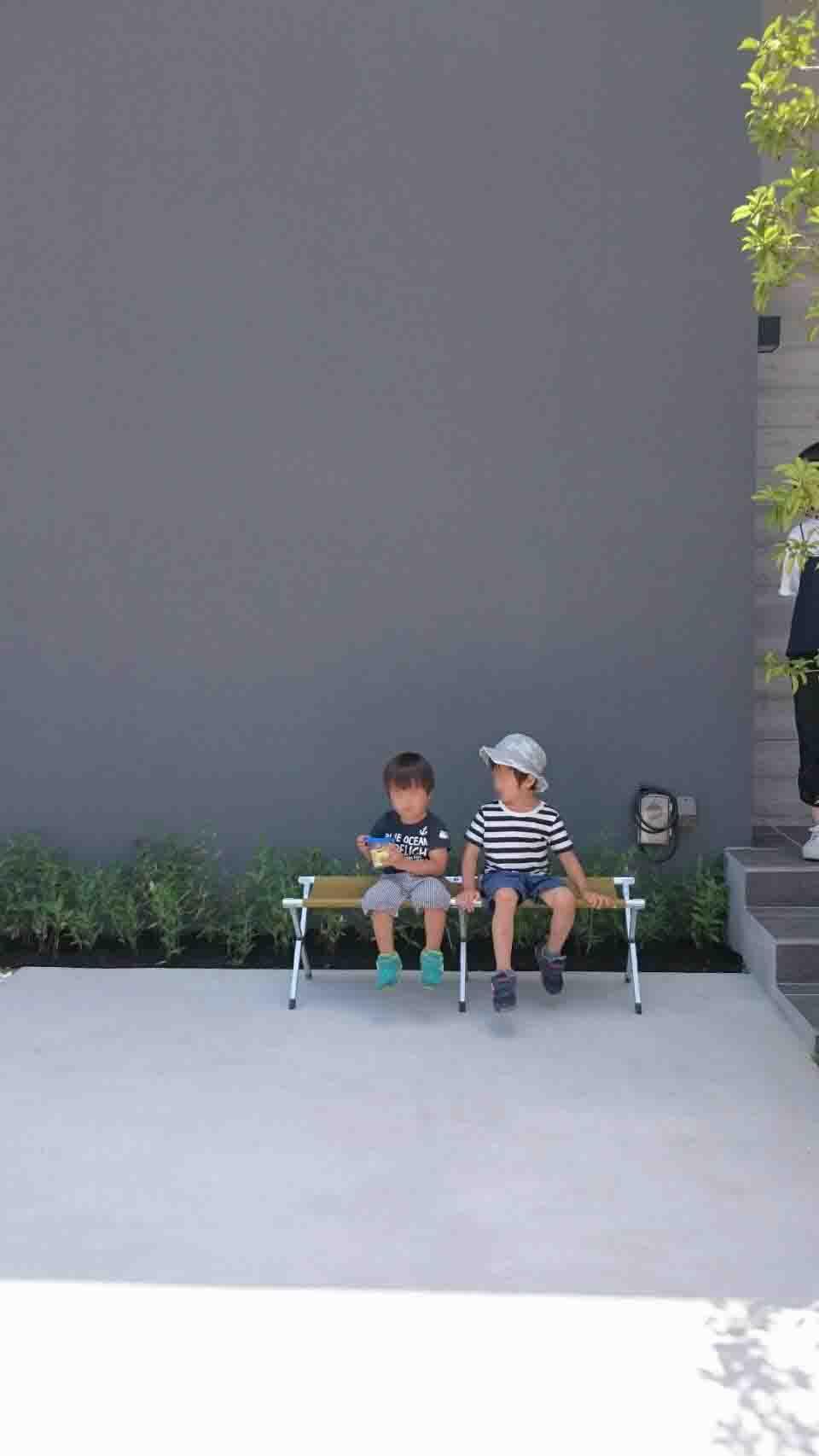 岡山市南区立川町 はぐくむ家の建物完成見学会の様子 その3
