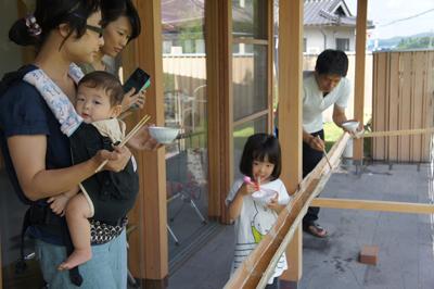 岡山県総社市 流しそうめんイベントの様子 その3