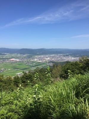 岡山県総社市 福山からの眺め