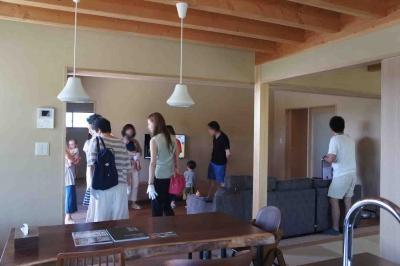 岡山県都窪郡早島町 完成後の住宅 暮らす家見学会 その2