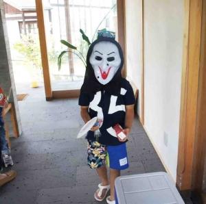岡山県総社市宿 流しそうめんイベントの様子 その16