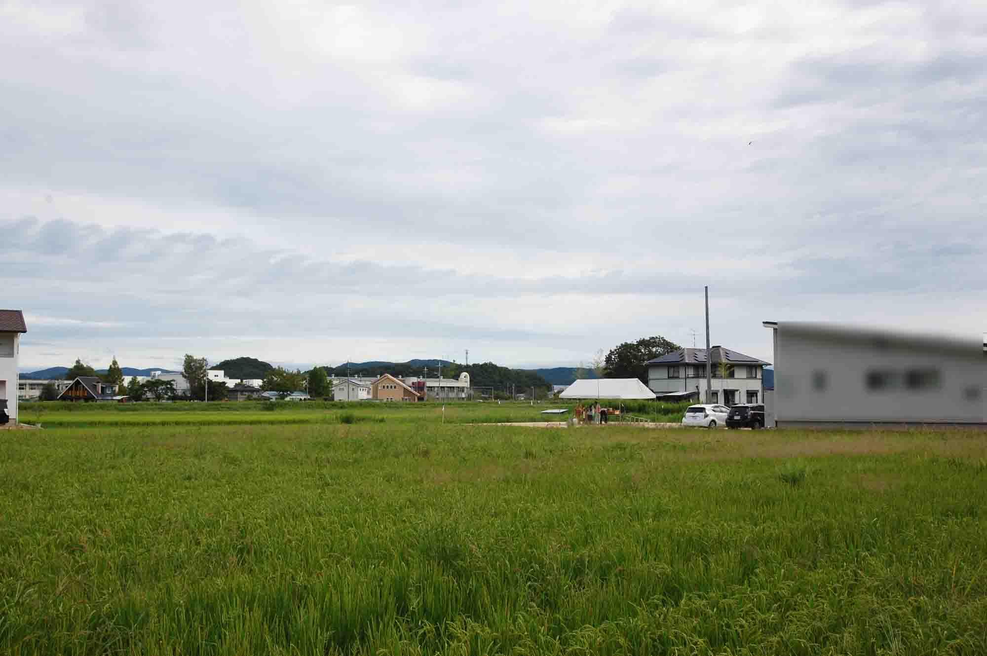 岡山県総社市上林 地鎮祭の様子 その1