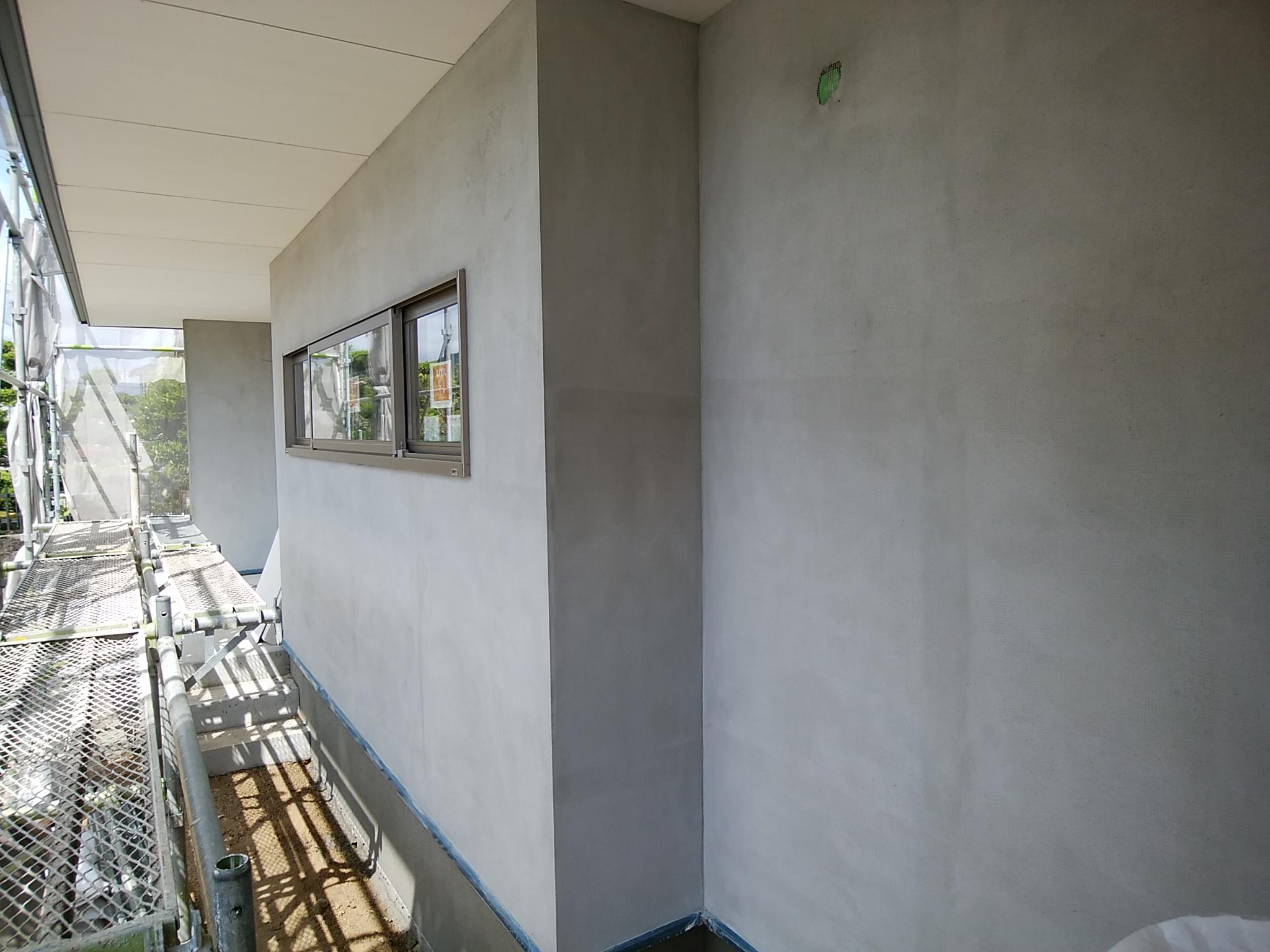 総社市平屋 外壁