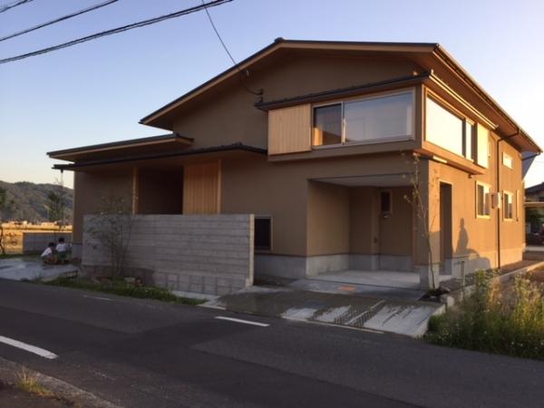 岡山県総社市 2階建て住宅 外観