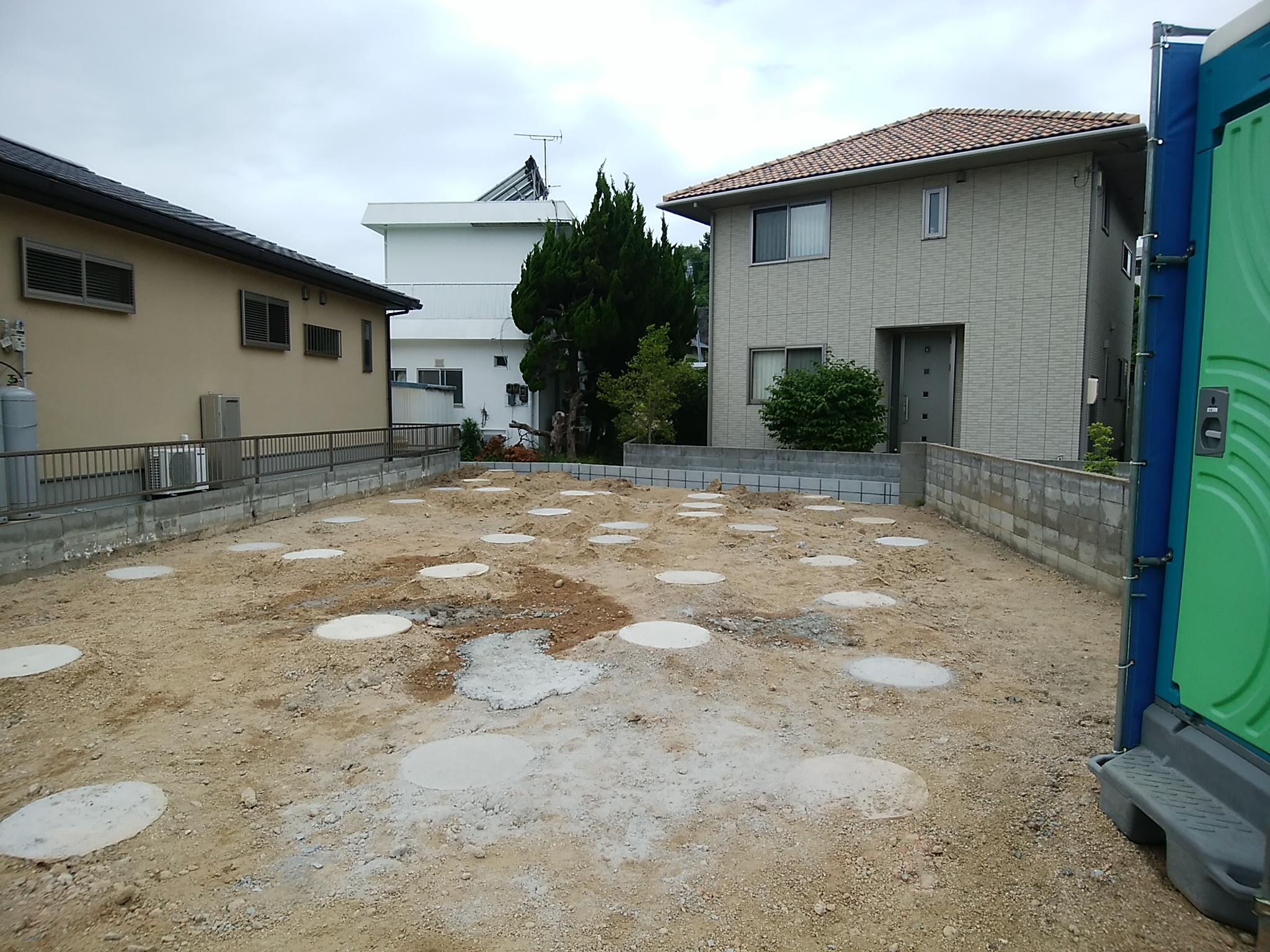 2階建て住宅 地盤改良