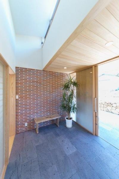 平屋住宅 眺めのいい家 玄関