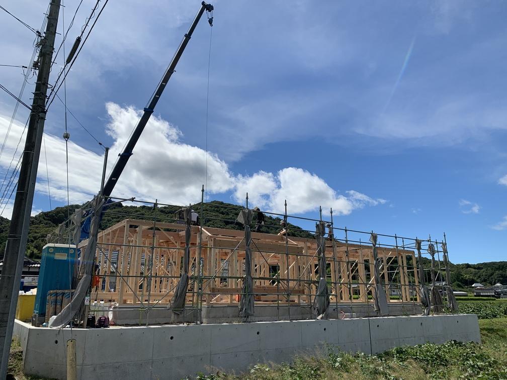 平屋 木まま 新築住宅
