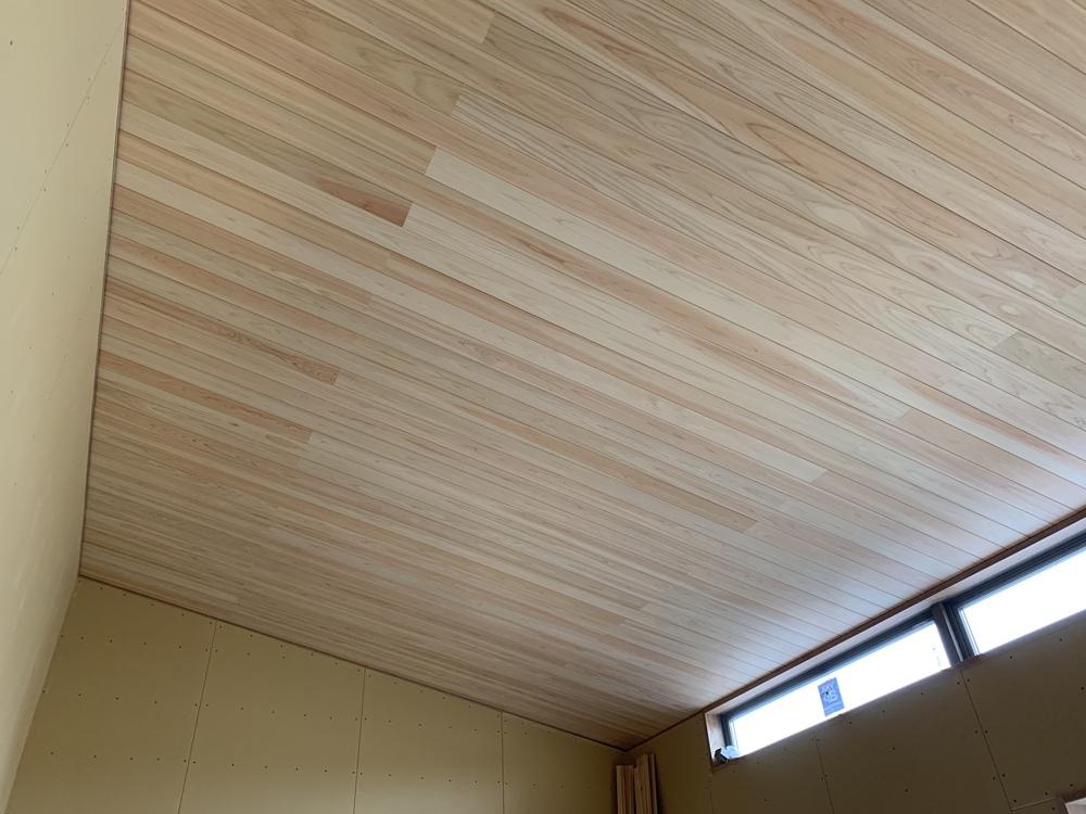 2階建て 木まま 新築住宅 木工事