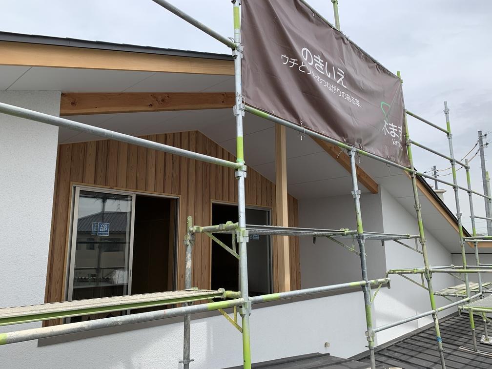 平屋 2階建て 木まま 新築住宅 仕上げ