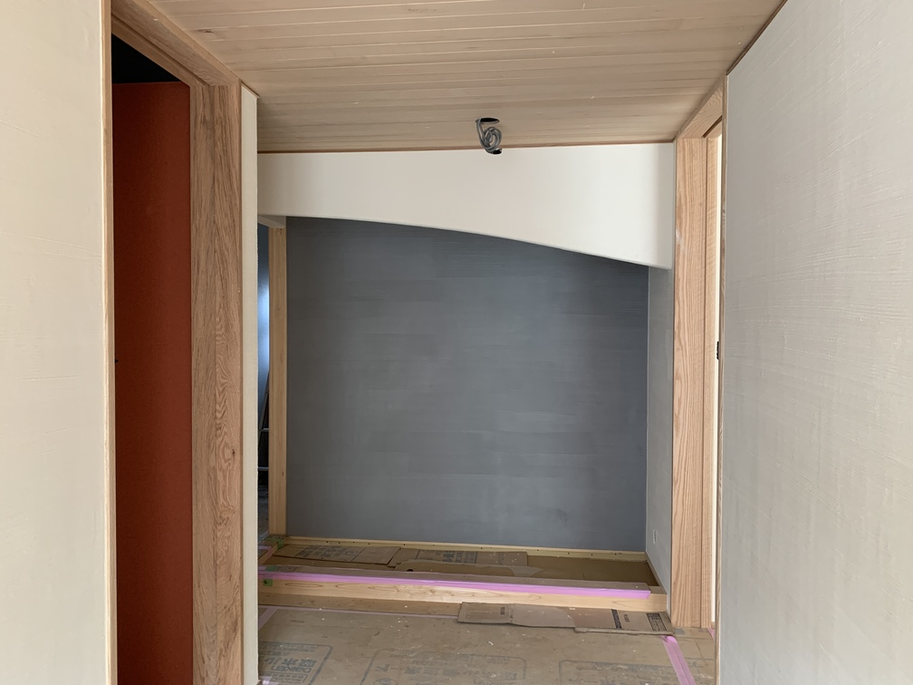 木まま 平屋 木造新築住宅 仕上げ