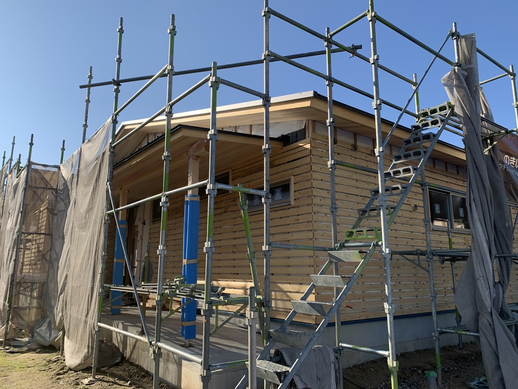 木まま 平屋 木造新築住宅
